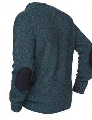 Zaļš vīriešu vilnas džemperis FYNCH-HATTON
