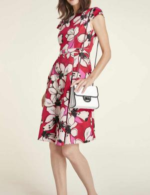 Sarkana puķaina raksta kleita HEINE