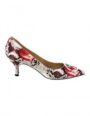 Sieviešu čūskas ādas raksta augstpapēžu apavi HEINE