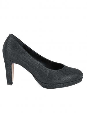 Melni sieviešu augstpapēžu apavi GABOR