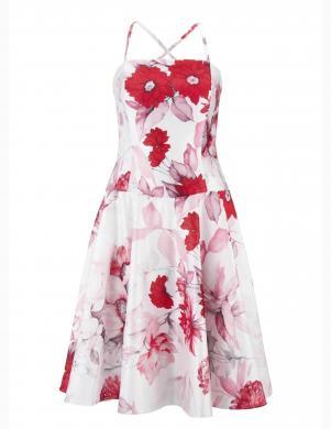Balta/sarkana kleita HEINE