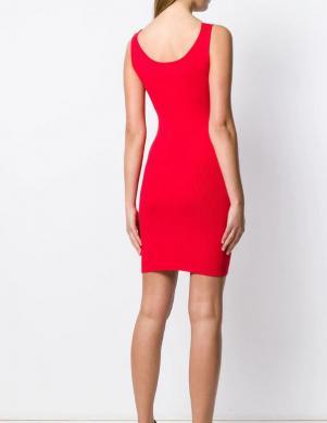 CALVIN KLEIN JEANS sarkana stilīga kleita