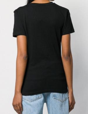 CALVIN KLEIN JEANS melns sieviešu krekls