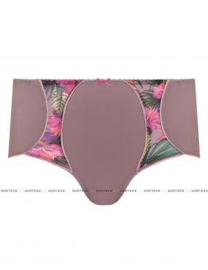 GORTEKS krāsainas sieviešu apakšbikses ar augstu vidukli CLEO