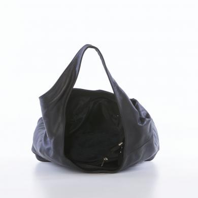 LUCCA BALDI melna ādas sieviešu soma