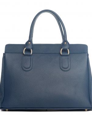 LIA BIASSONI zila ādas sieviešu soma