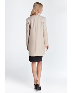 COLETT krēmīgas krāsas stilīga sieviešu jaka