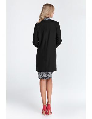COLETT melnas krāsas stilīga sieviešu jaka