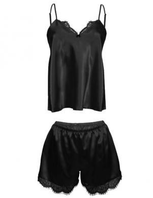 DKAREN pidžama DORIS melna