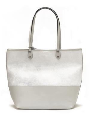 PIERRE CARDIN gaiša ādas sieviešu soma