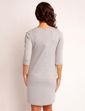 VANESSA pelēkas krāsas stilīga sieviešu kleita