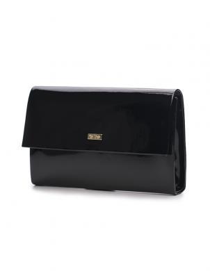 FELICE melnas krāsas sieviešu soma CLUTCH