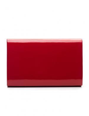 FELICE sarkana sieviešu soma SHINY