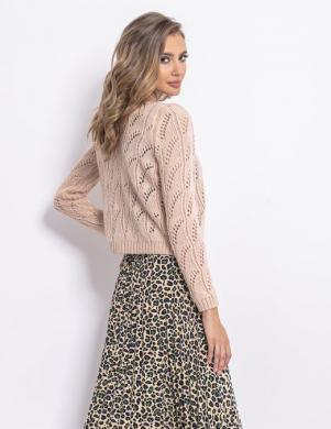 FOBYA sieviešu sārtas krāsas džemperis