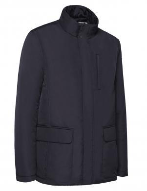 GEOX vīriešu zila jaka ar piestiprināmu siltu oderi