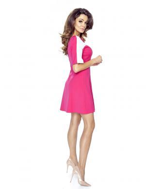BERGAMO sieviešu rozā krāsas kleita