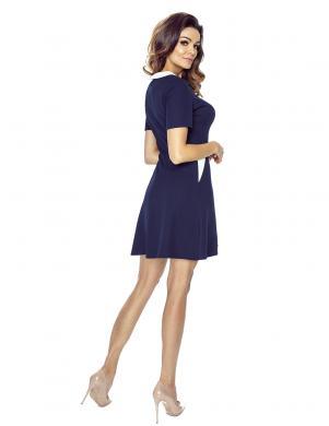 BERGAMO sieviešu tumši zilas krāsas kleita