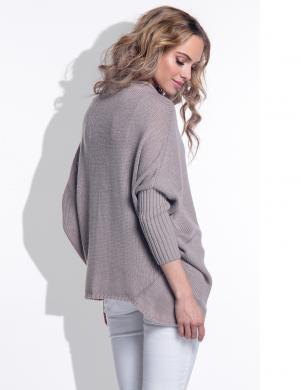 FIMFI sieviešu brūnas krāsas džemperis