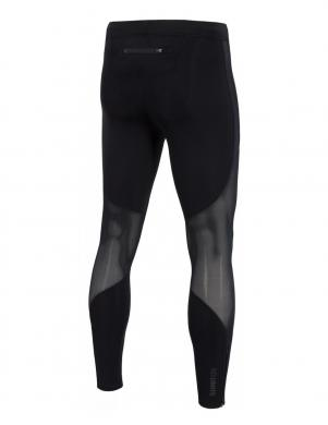 4F vīriešu melnas krāsas sporta bikses