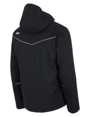 4F melnas krāsas vīriešu slēpošanas jaka