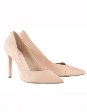 Sieviešu miesas krāsas ādas augstpapēžu apavi HOGL