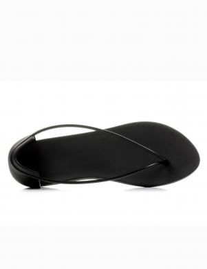 IPANEMA WITH STARCK sieviešu melnas stilīgas pludmales sandales ar jostu