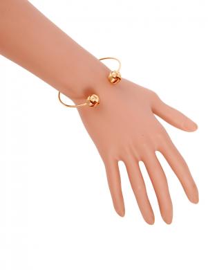 MADE FOR LOVING zelta krāsas sieviešu rokassprādze
