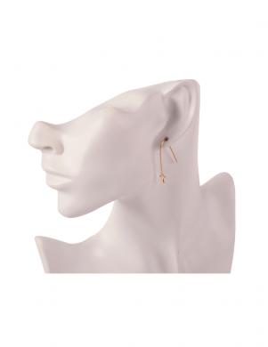 MADE FOR LOVING stilīgi sieviešu zelta krāsas auskari