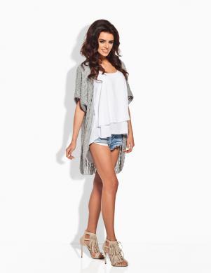 LEMONIADE gaiši pelēkas krāsas skaists sieviešu džemperis