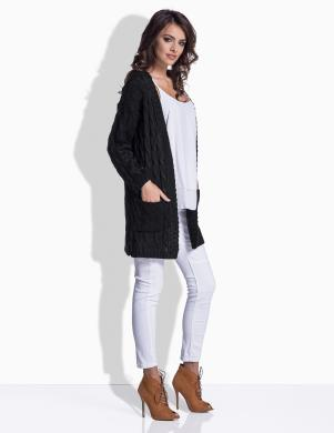 LEMONIADE sieviešu melnas krāsas džemperis