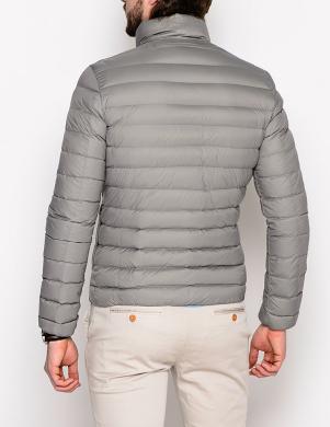 GEOX stilīga vīriešu dūnu pelēkas krāsas jaka