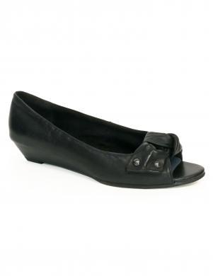 MARCO TOZZI sieviešu melni apavi