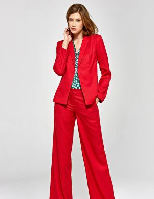 COLETT sarkanas sieviešu bikses