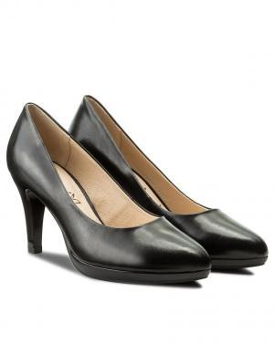 Sieviešu melni eleganti augstpapēžu apavi CAPRICE