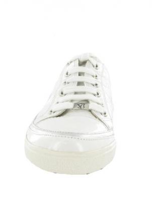 Sieviešu balti lakoti ādas brīva laika apavi CAPRICE