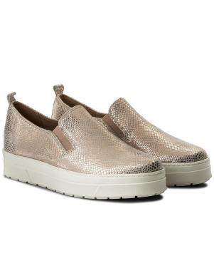 Sieviešu zelta krāsas brīva laika apavi CAPRICE