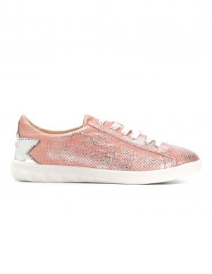 Sieviešu rozā spīdīgi brīva laika apavi DIESEL