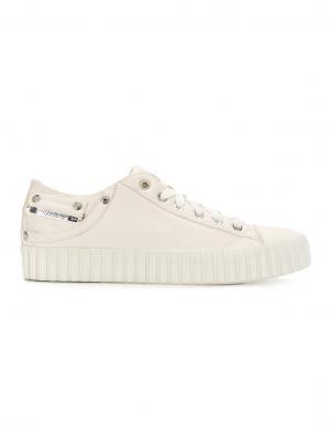 Sieviešu balti brīva laika apavi ar augstu zoli DIESEL