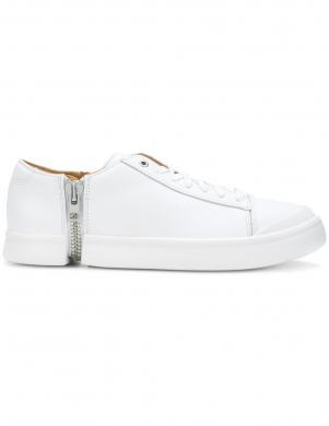 Vīriešu balti apavi ar masīvu rāvējslēdzēju DIESEL