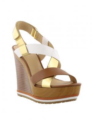 Sieviešu brūnas pilnpapēža sandales MICHAEL KORS