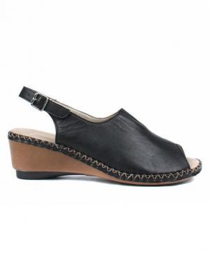Sieviešu melnas sandales RIEKER