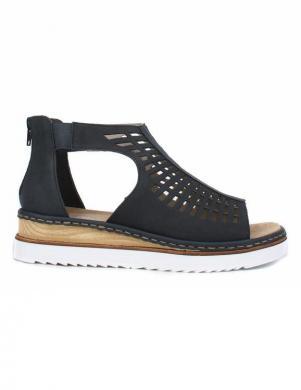 Sieviešu tumši zilas sandales RIEKER