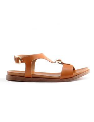 Sieviešu brūnas sandales STELLA