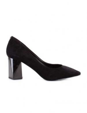 GUESS sieviešu melni eleganti augstpapēžu apavi