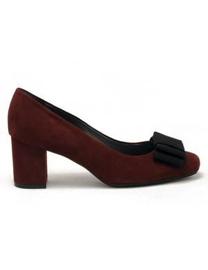 PETER KAISER sieviešu tumši sarkani augstpapēžu apavi Palira