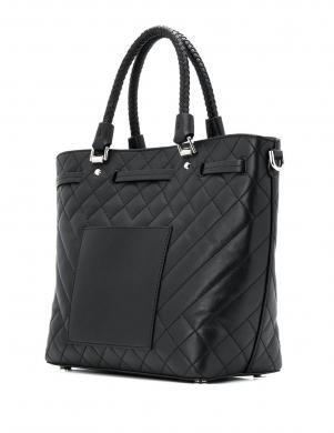 MICHAEL KORS sieviešu melna ādas soma