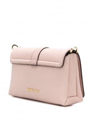 MICHAEL KORS rozā ādas sieviešu soma pār plecu