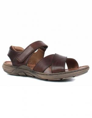 RIEKER vīriešu brūnas ādas sandales