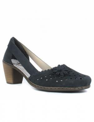 RIEKER sieviešu zili ādas apavi