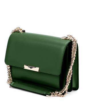 MICHAEL KORS sieviešu zaļa ādas soma pār plecu